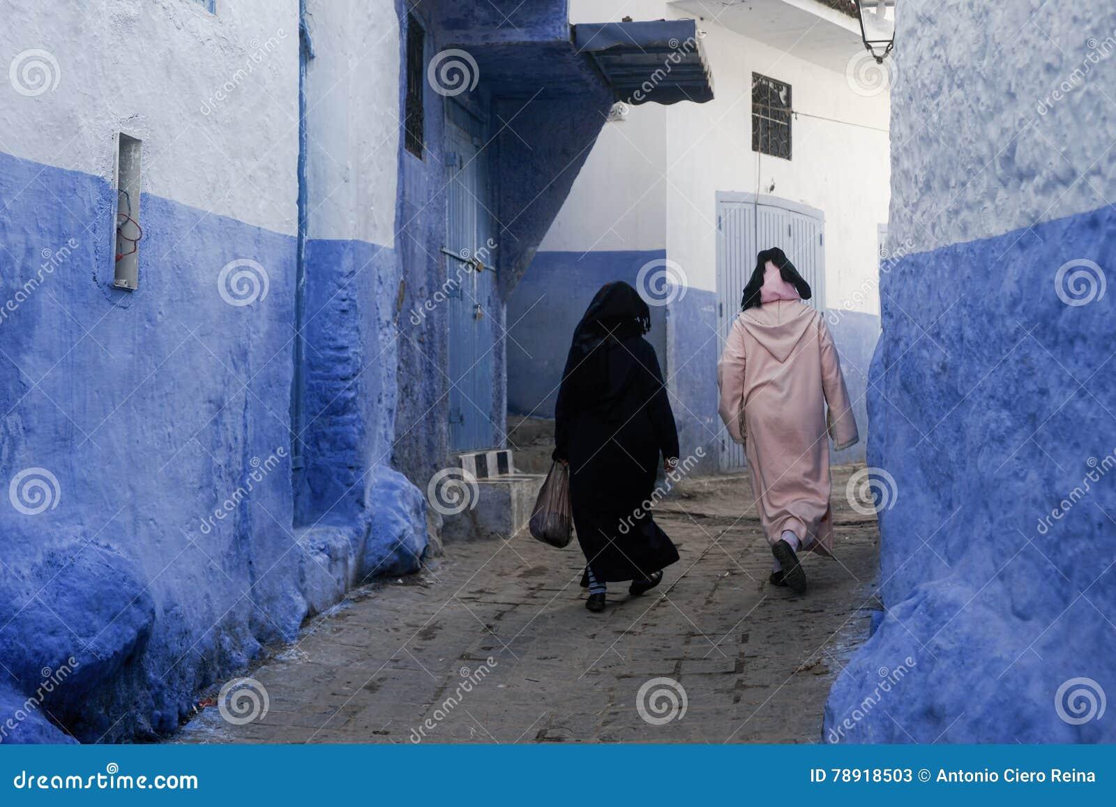 Wereldsteden, Chefchaouen in Marokko