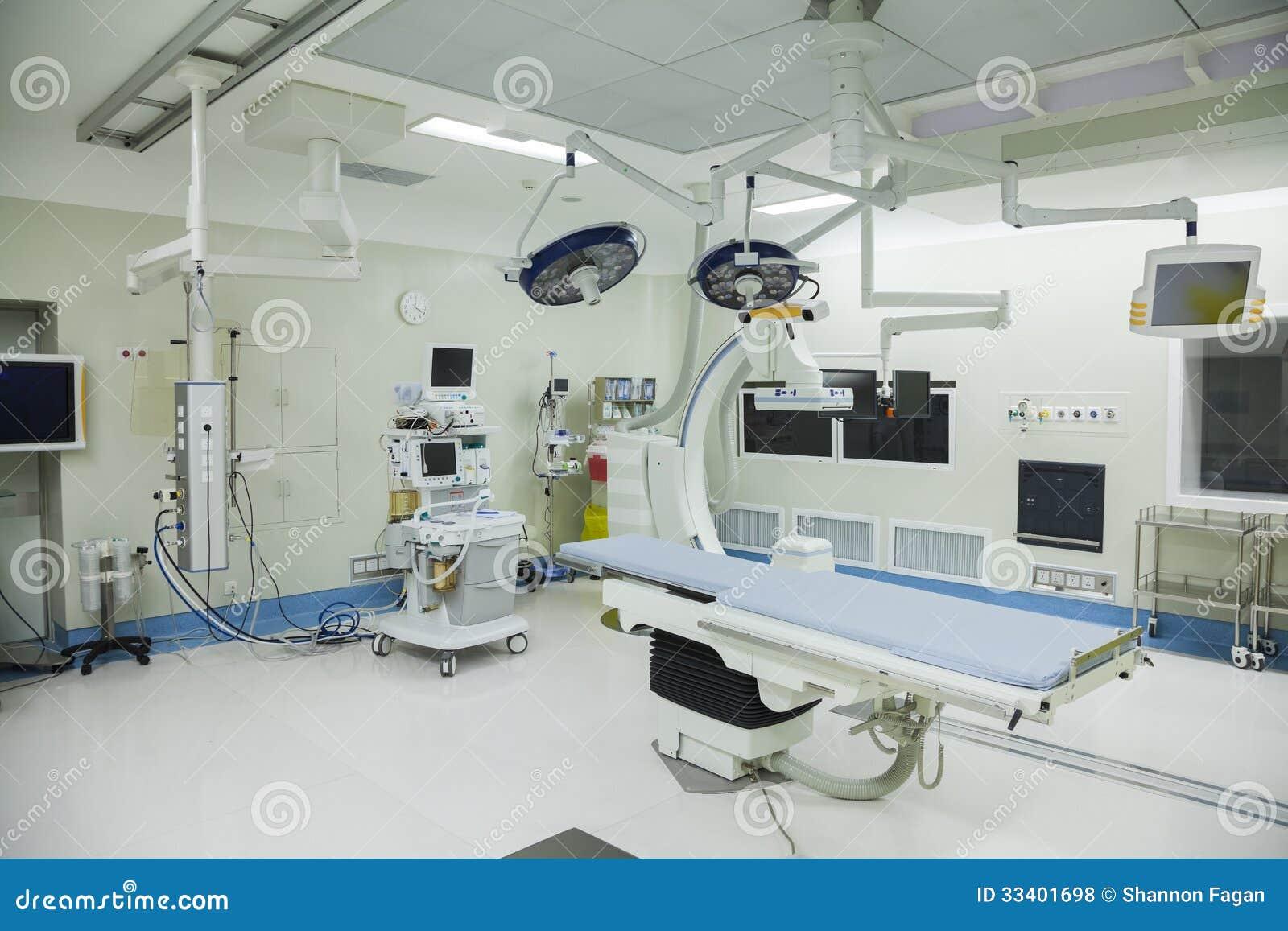 Werkende ruimte met chirurgisch materiaal, het ziekenhuis, Peking, China