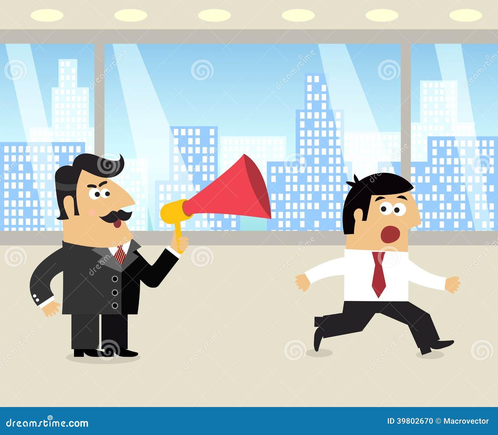 Werkgever en werknemersscène