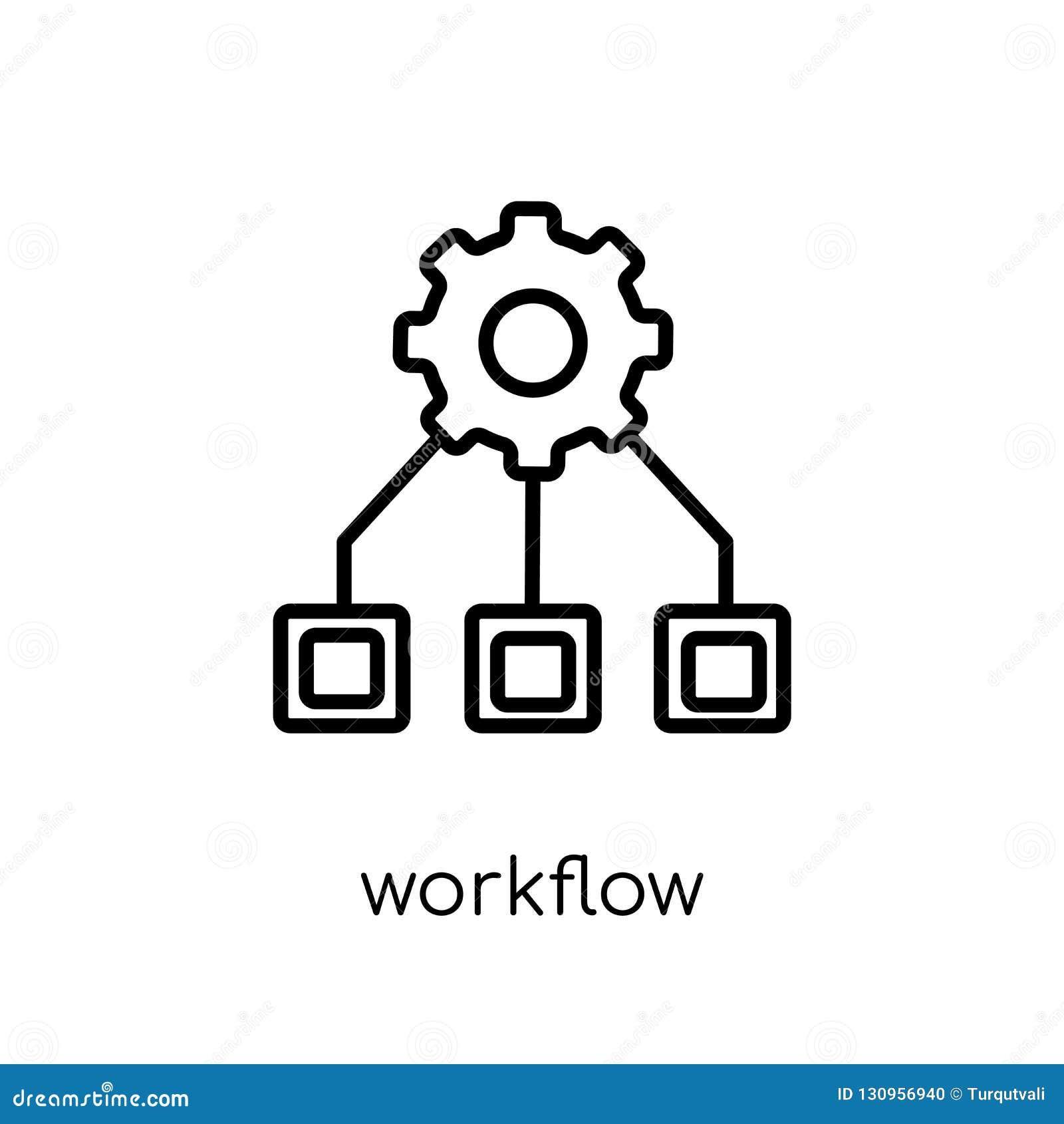 Werkschemapictogram van inzameling