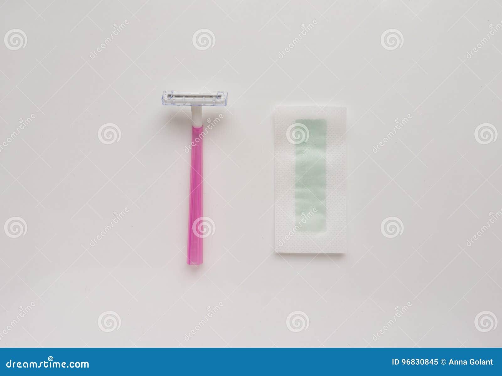 werkzeug, instrument für haarenthaarung: rasiermesser- und
