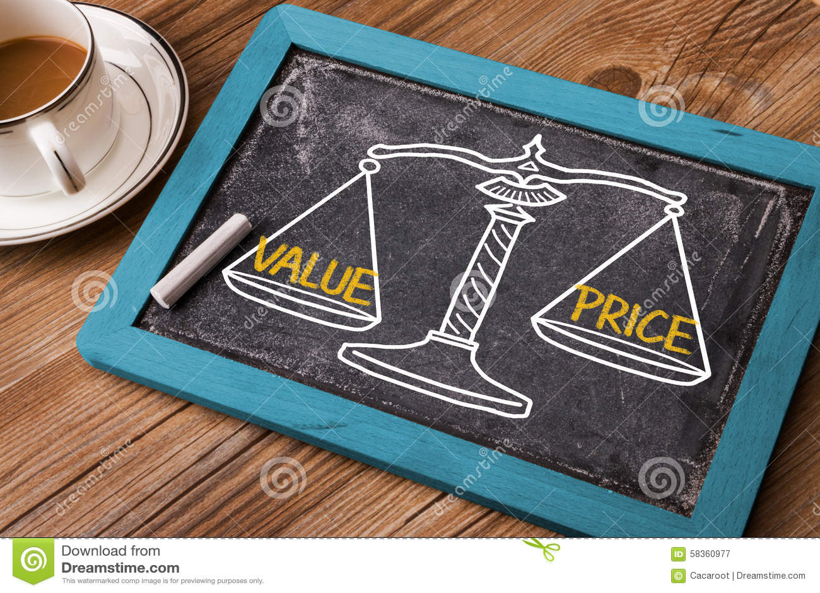 Wertpreiskonzept