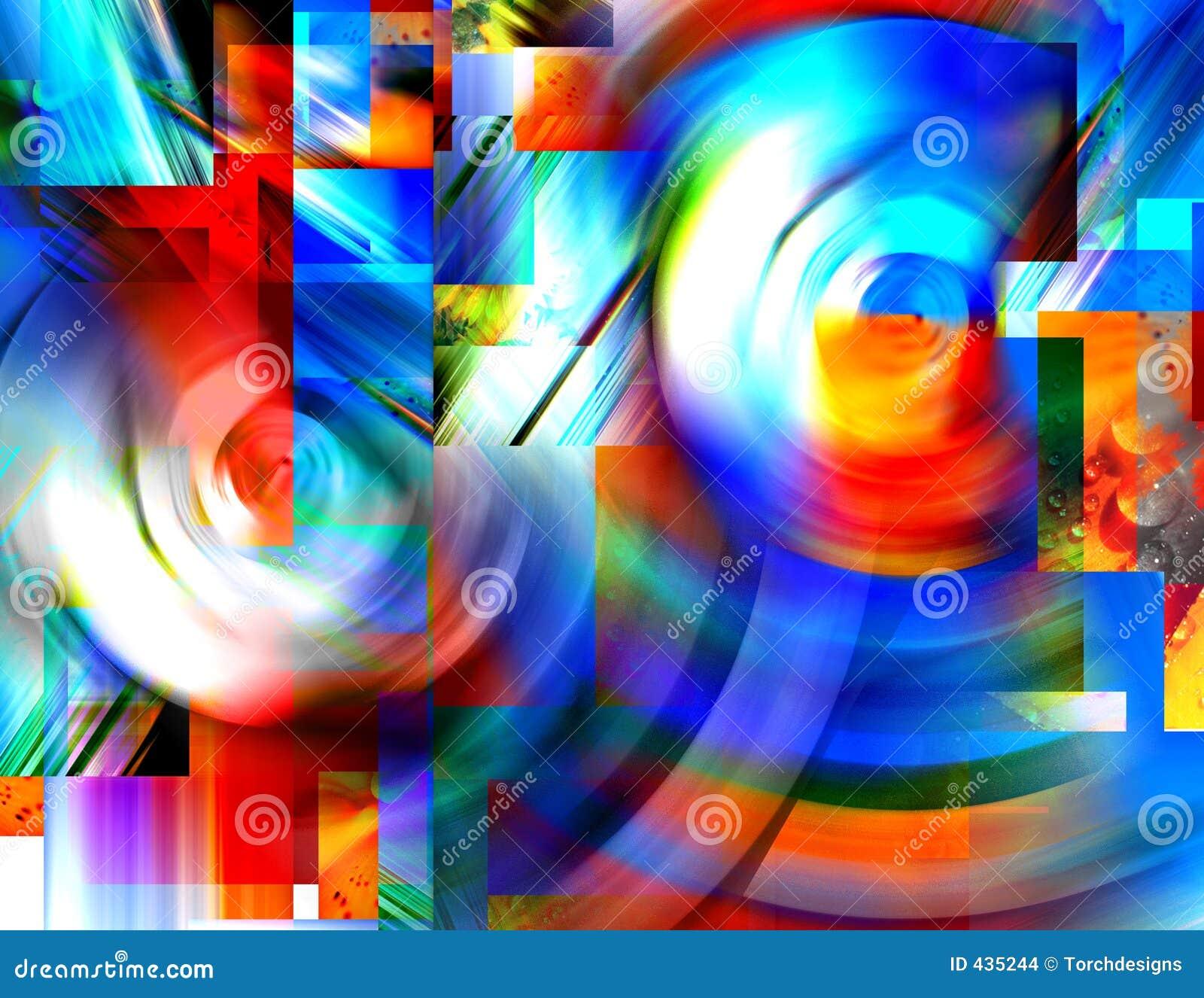 Wervelingen van Kleur