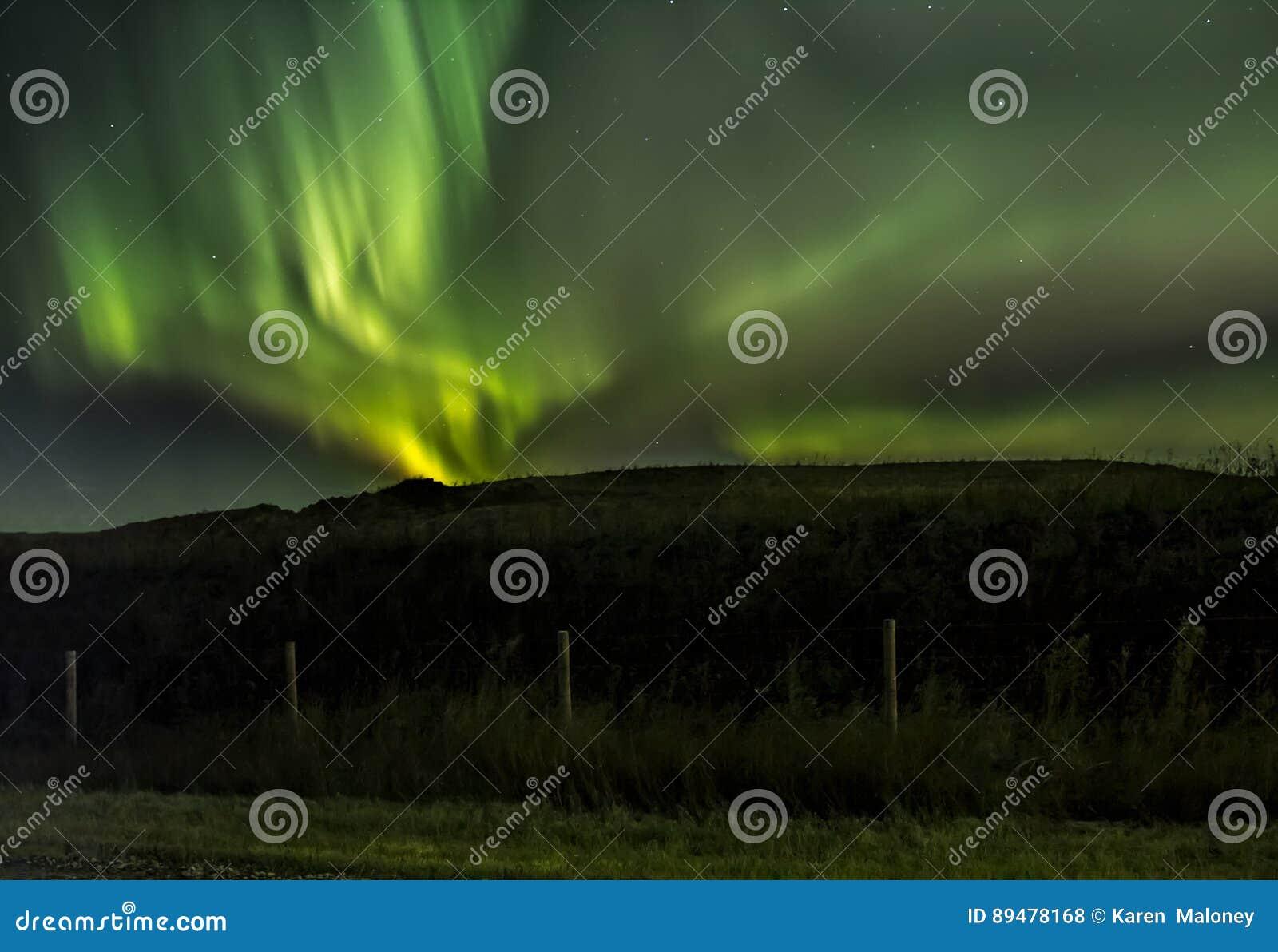 Wervelingen van Noordelijke Lichten