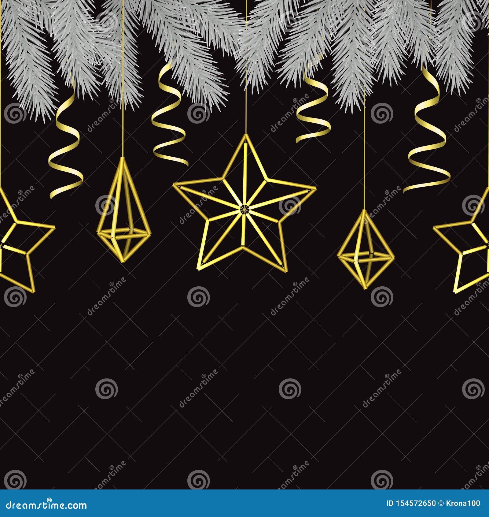 Wesoło boże narodzenia i Szczęśliwego nowego roku Skandynawski Bezszwowy wzór