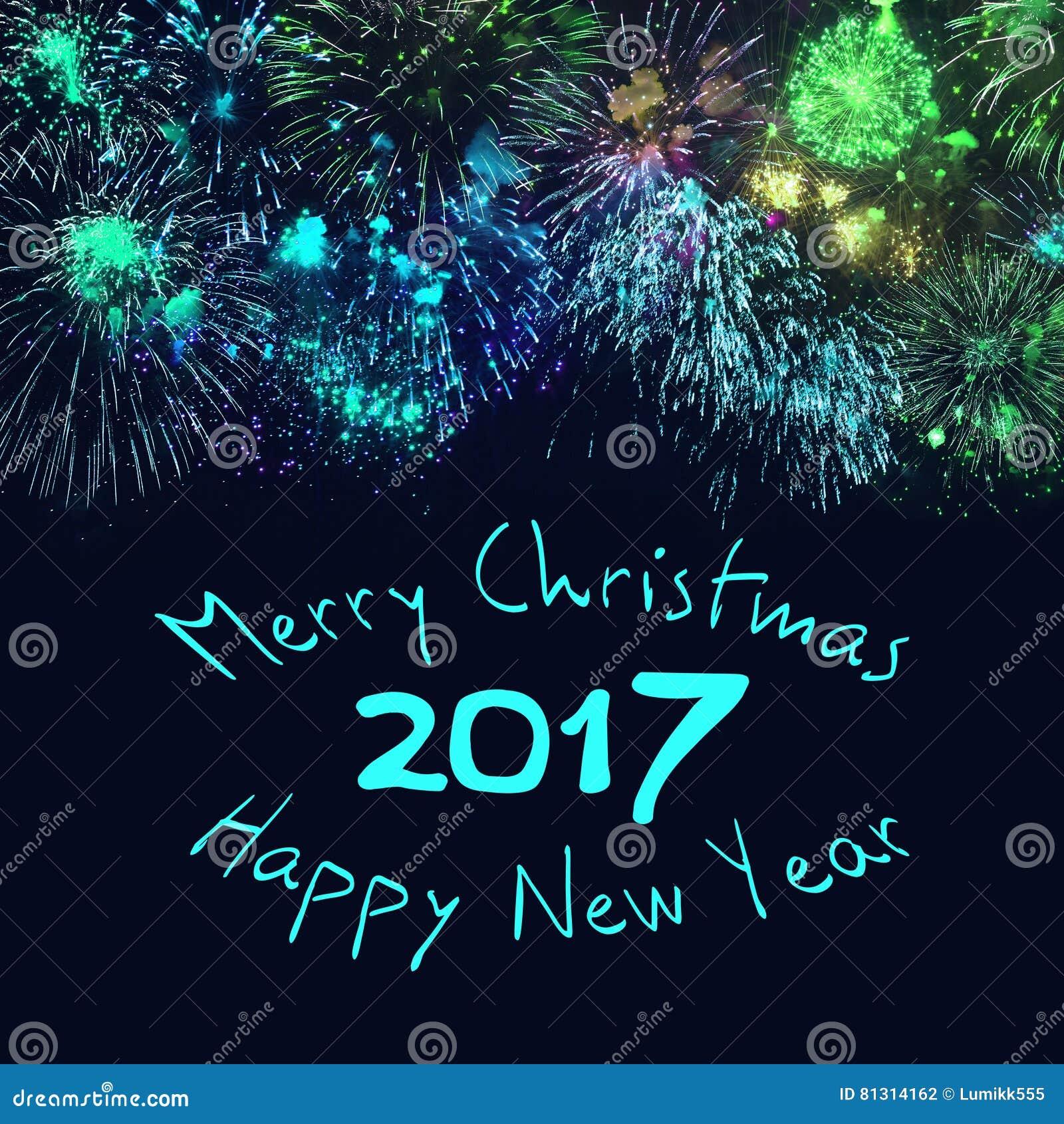 Wesoło boże narodzenia 2017 i Szczęśliwy nowy rok