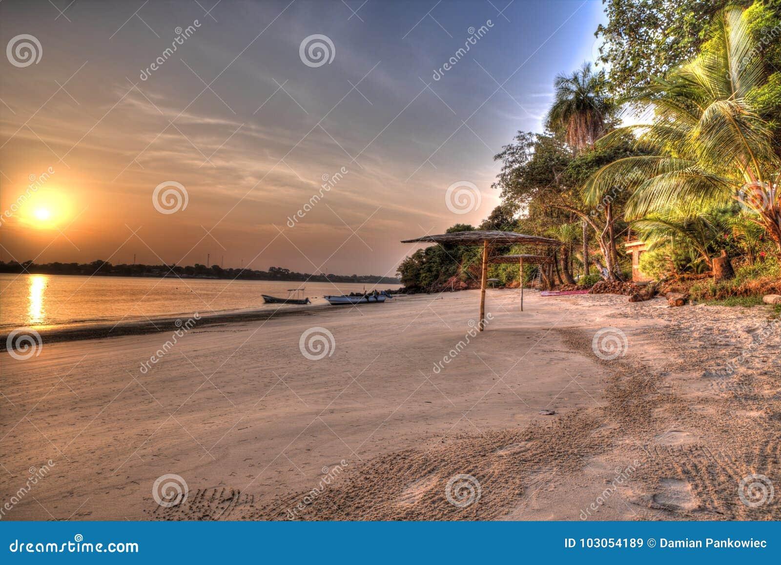 West Africa Guinea Bissau Bijagos island