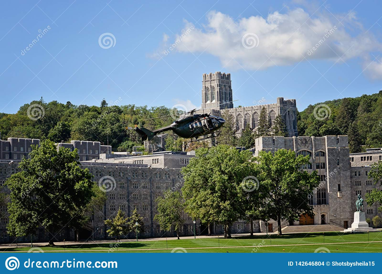 West Point-Helikopter