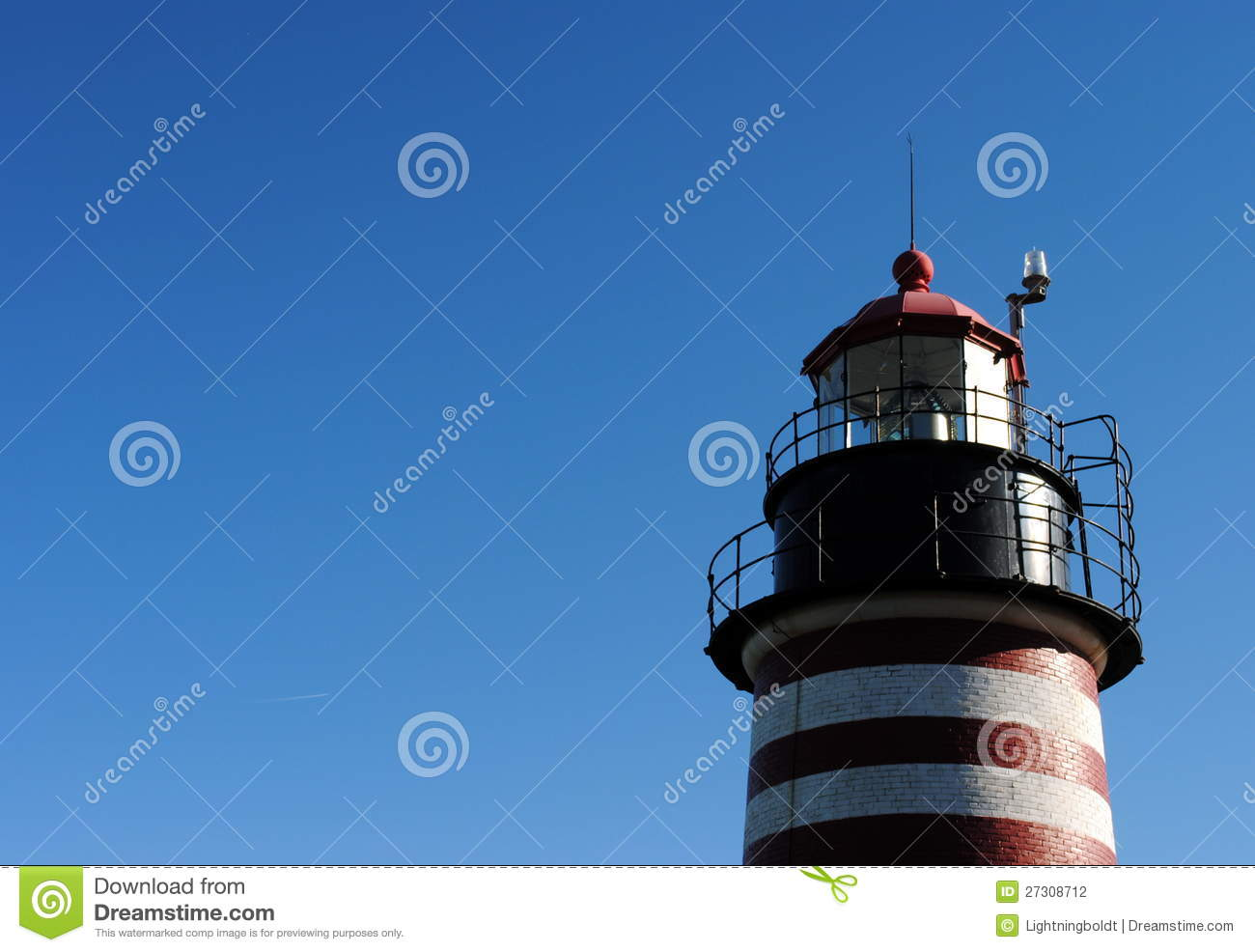 West quoddy lighthouse lubec me usa stock photography for What state has the most lighthouses
