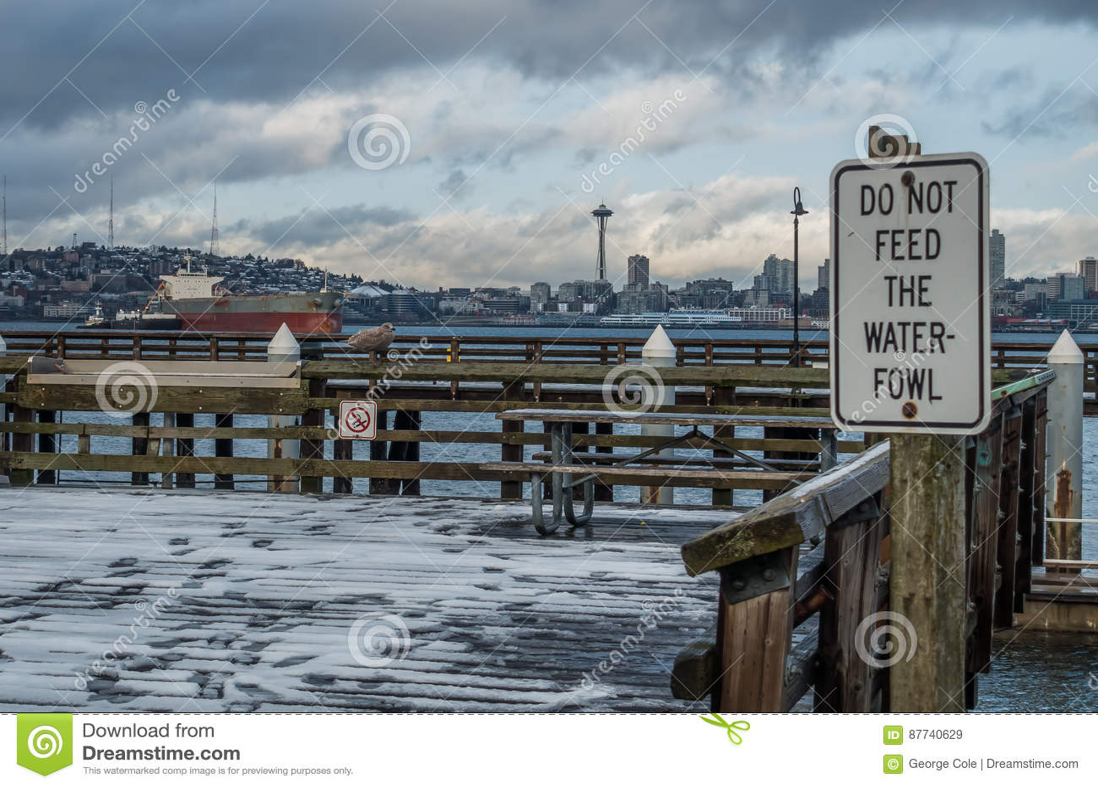 West-Seattle-Ufergegend