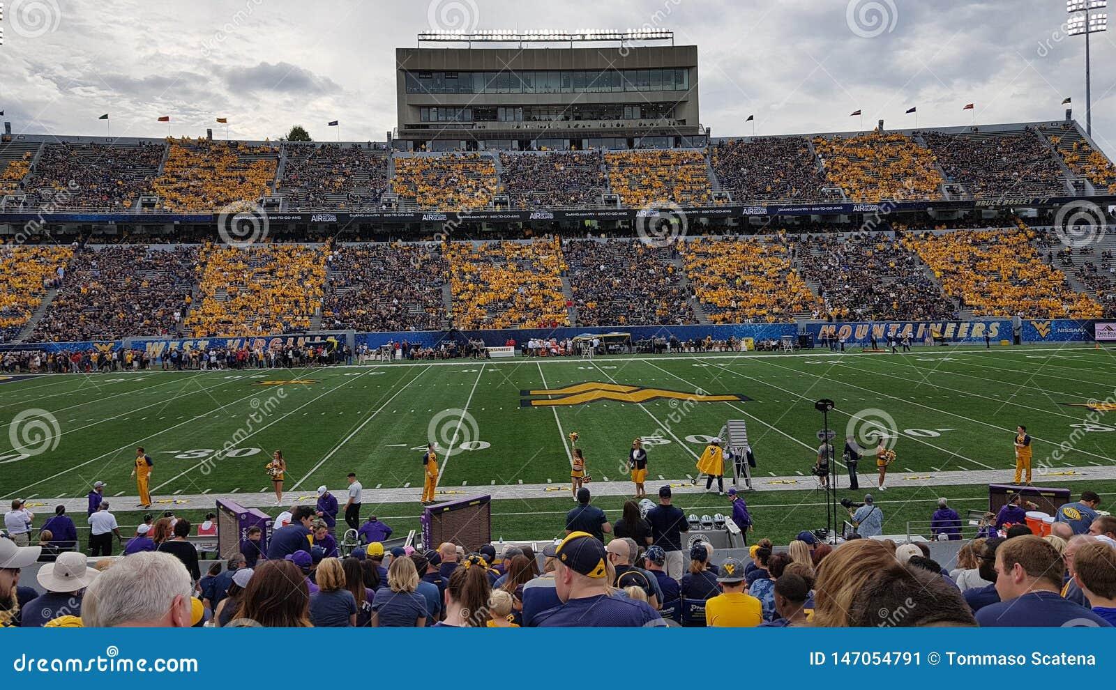 West Virginia university stadium