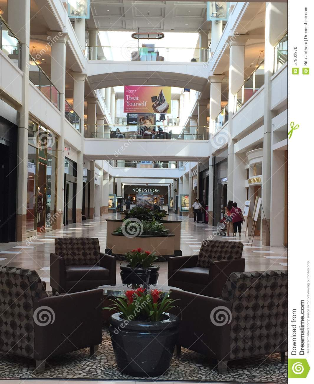 The Westchester Mall In White Plains New York Editorial Image