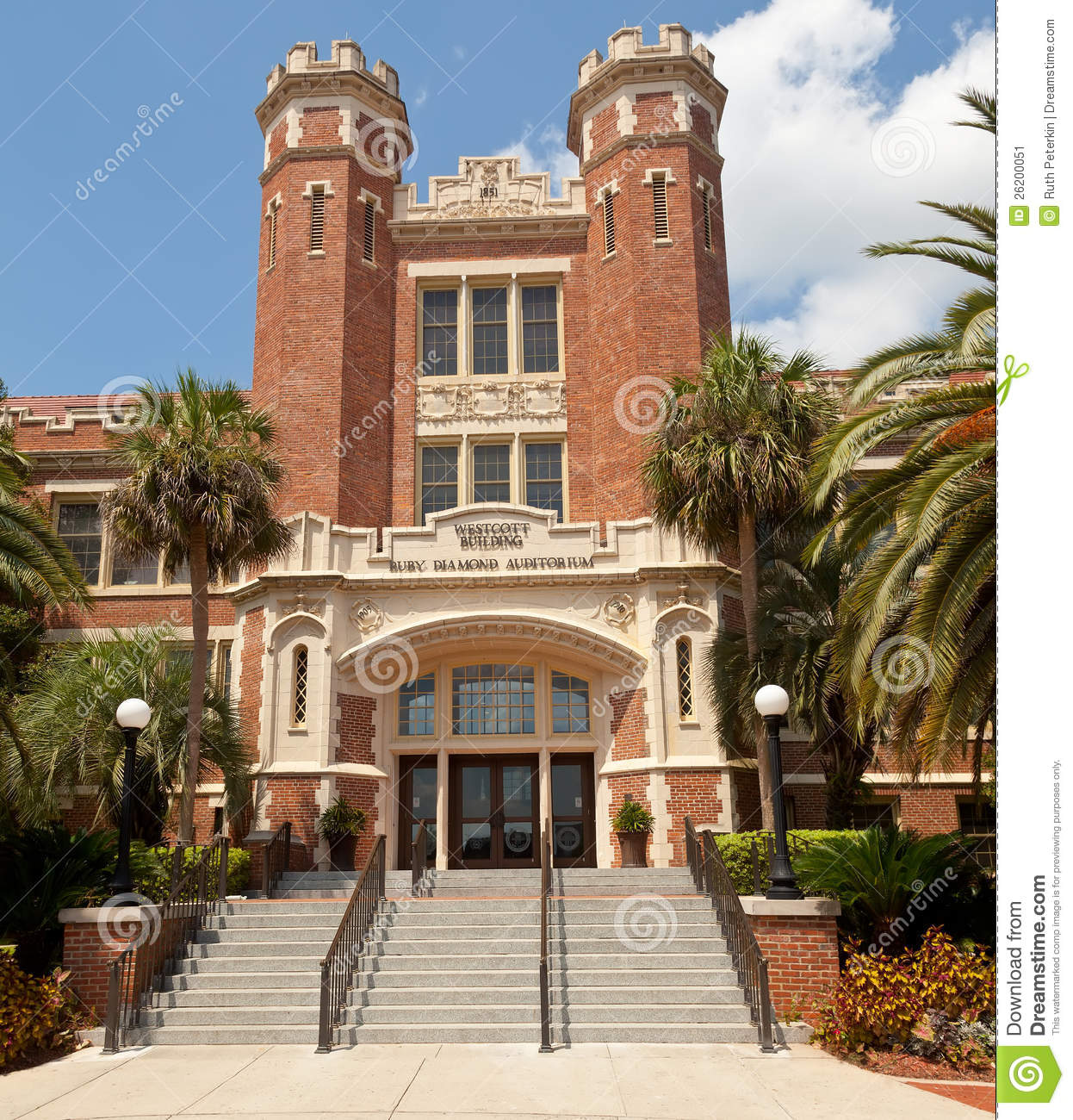 Westcott Building Florida State University Editorial