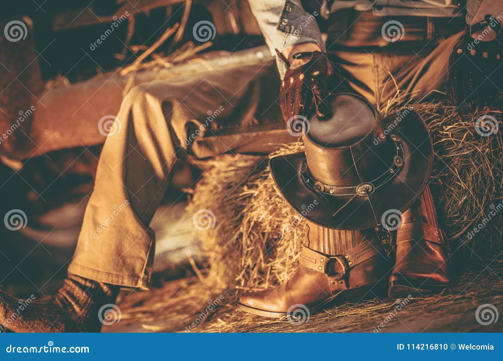 Wester klädercowboy