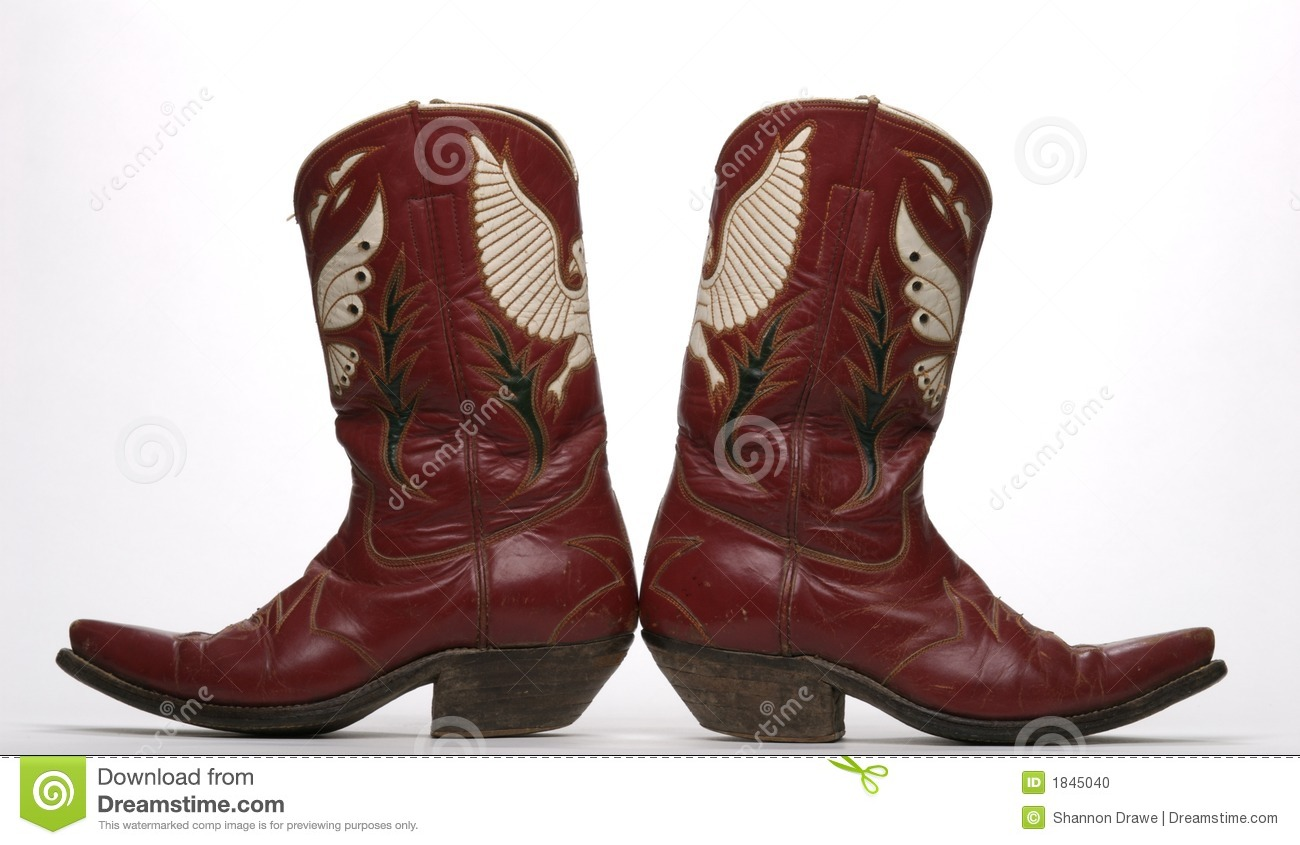 875d59ac5c5 Western Boots stock photo. Image of antique, vintage, womens - 1845040