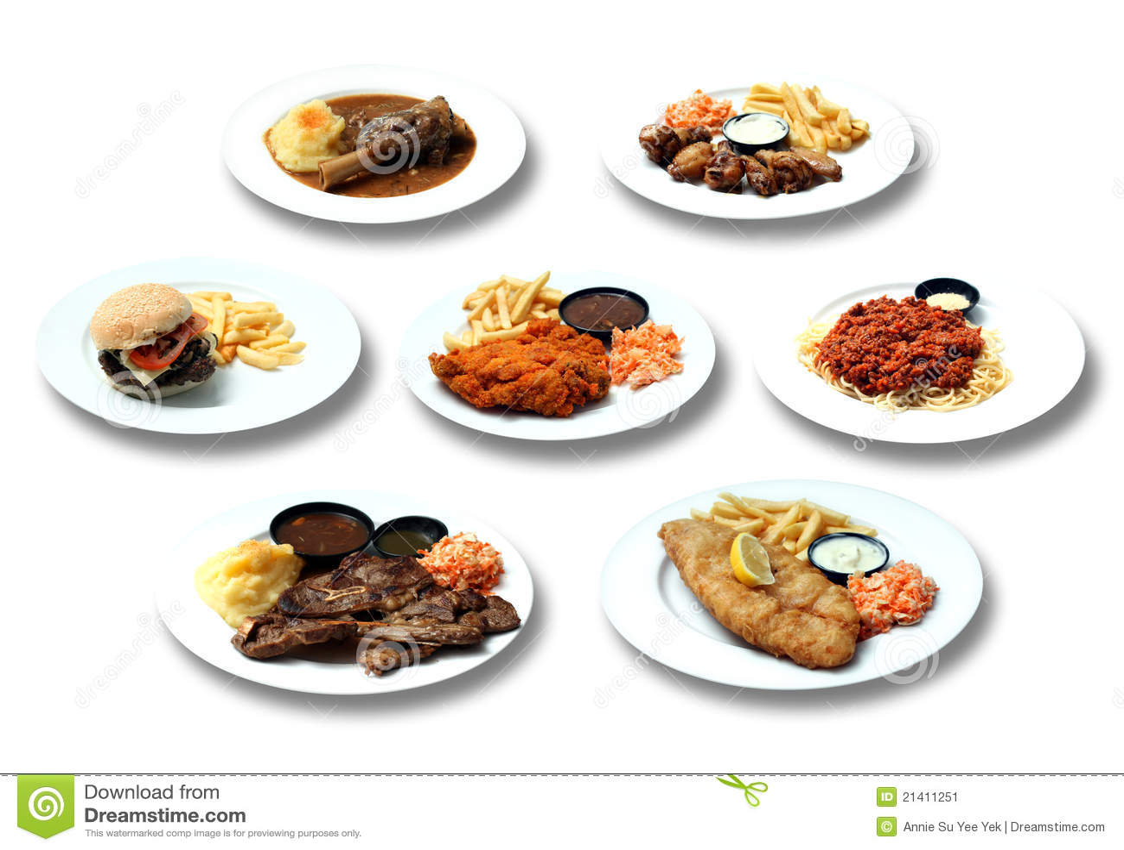 Western Food Stock Image - Image: 21411251