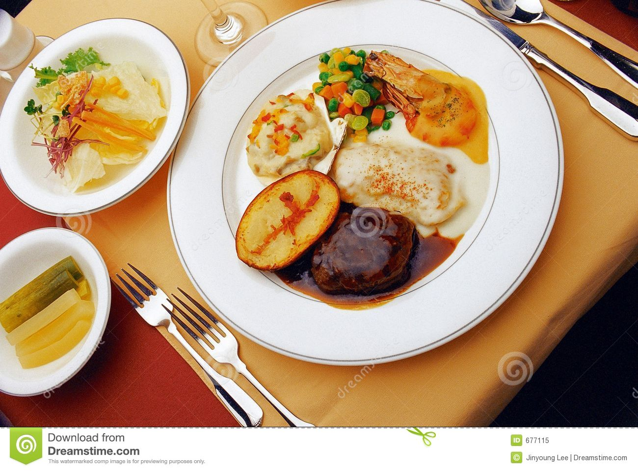 Western food royalty free stock photo image 677115 for Cuisine western