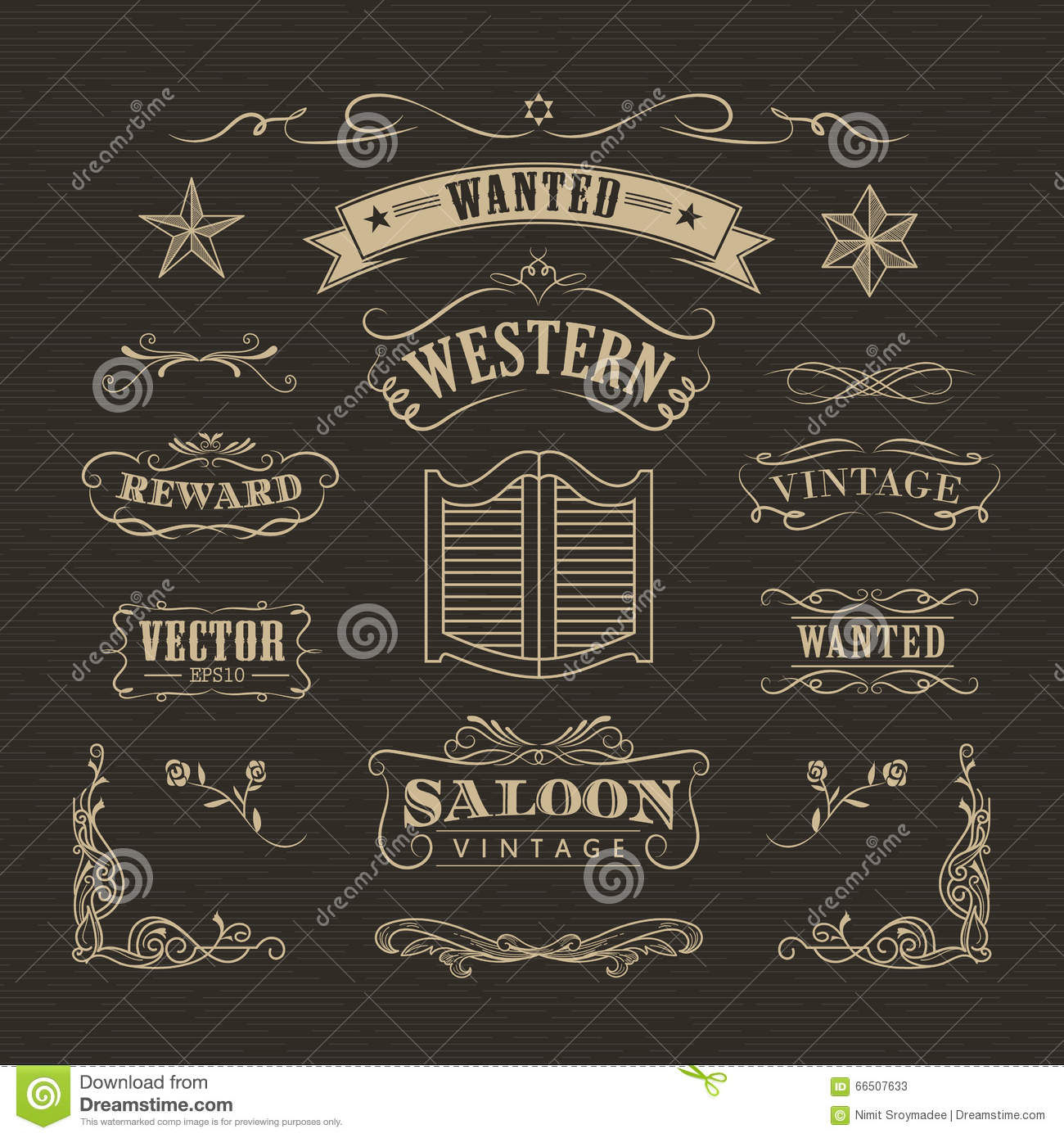 Design country western logo yourself