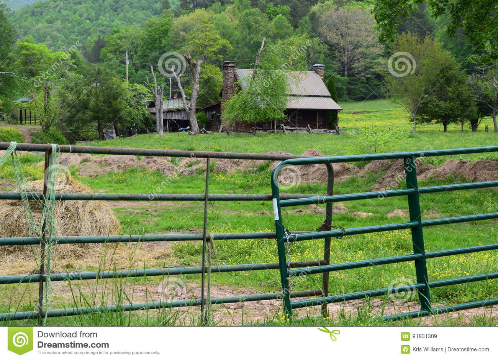 Western NC farmhouse