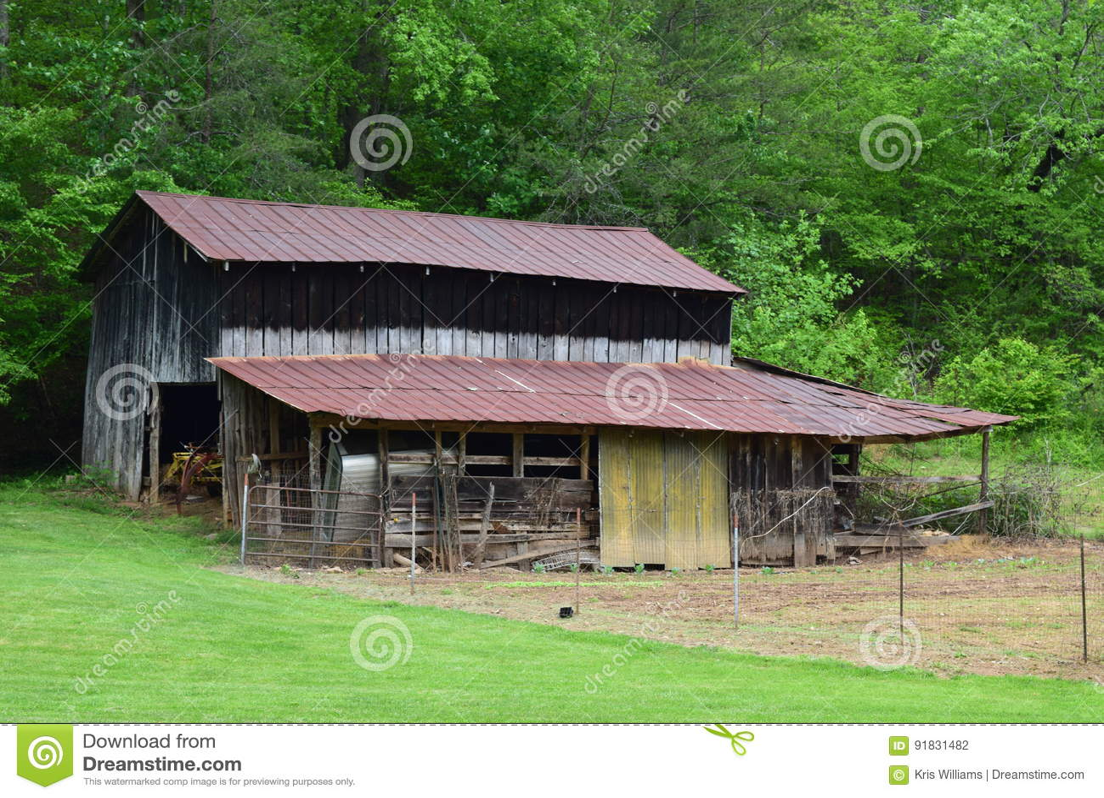 Western NC Mountain Barn and Garden