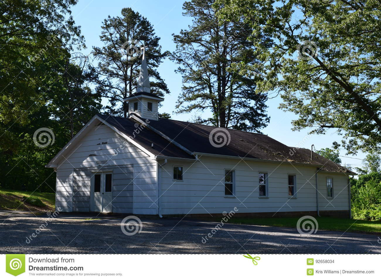 Western NC Mountain country church