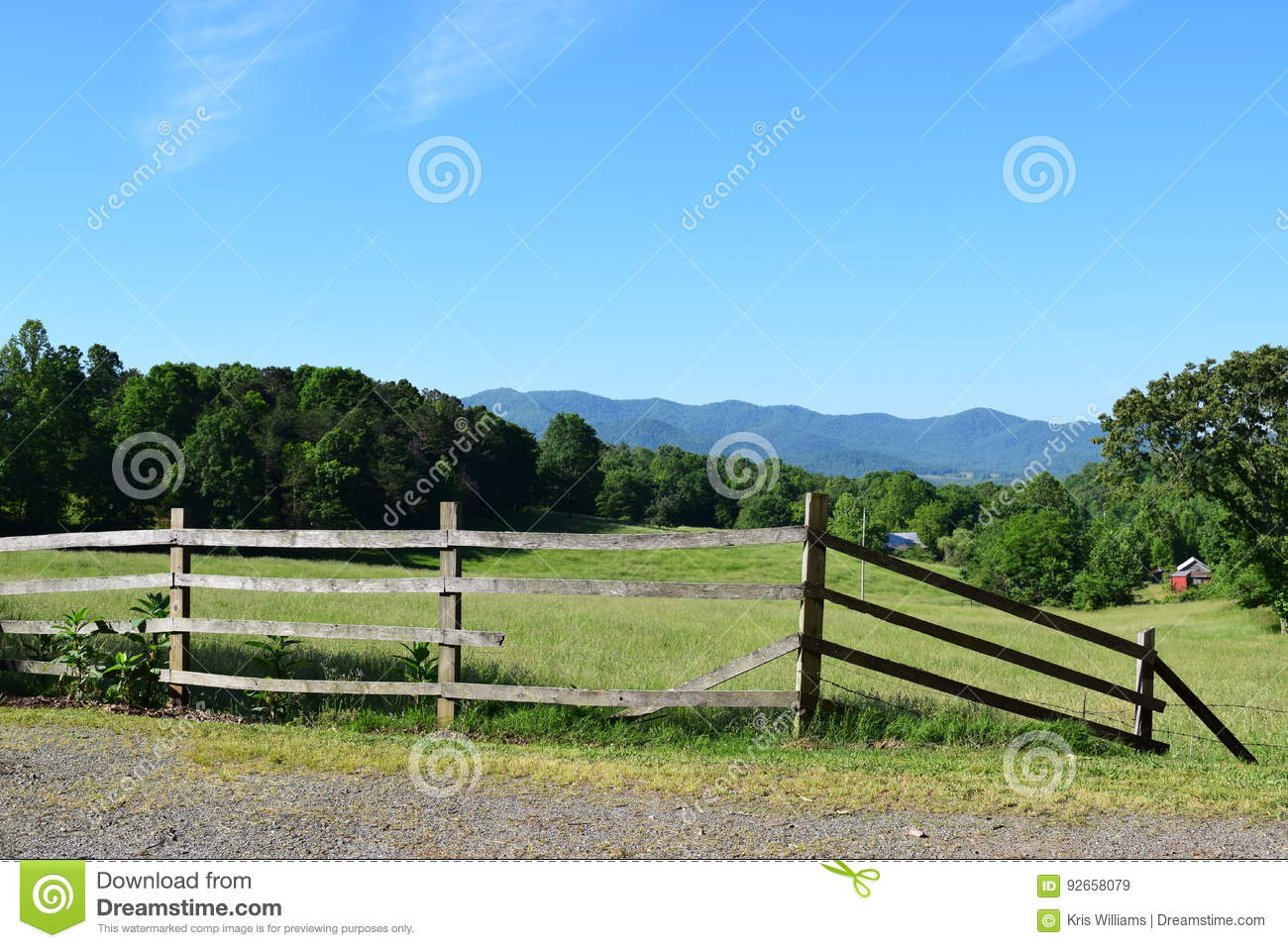 Western NC Mountain farm and pasture