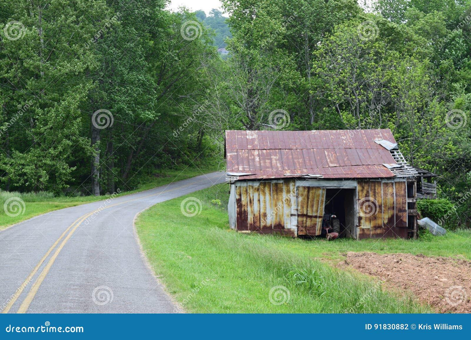 Western NC mountain rural fam road
