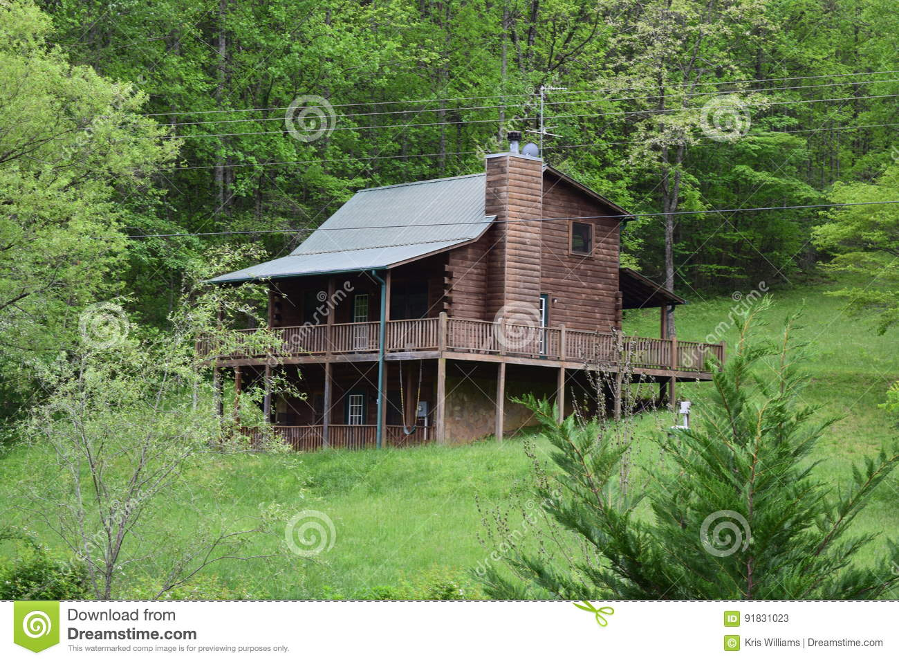 Western NC rural country mountain cabin