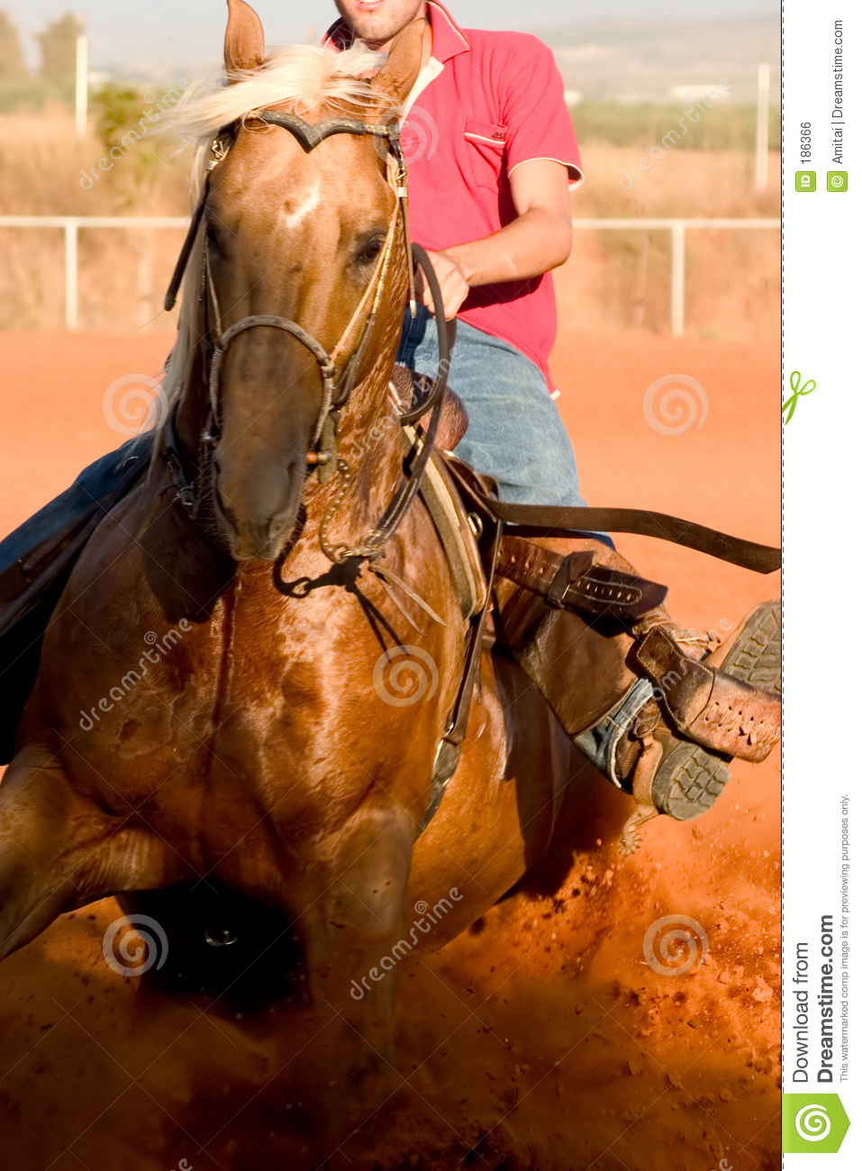 Western Horse Riding Clipart Western Style Horse Ri...