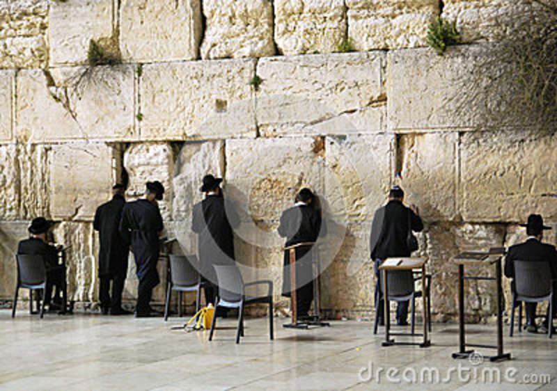 The Western Wall In The Old City Of Jerusalem, Israel