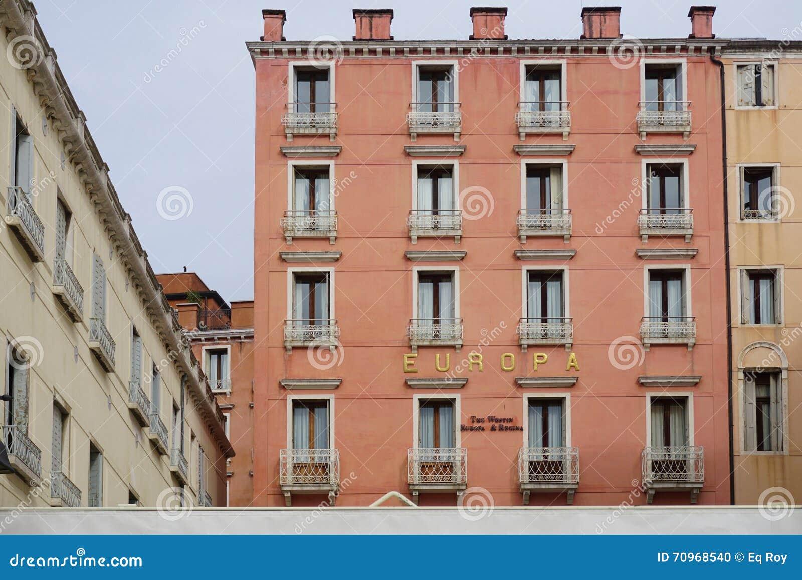 Rooms: The Westin Europa And Regina Hotel In Venice Editorial