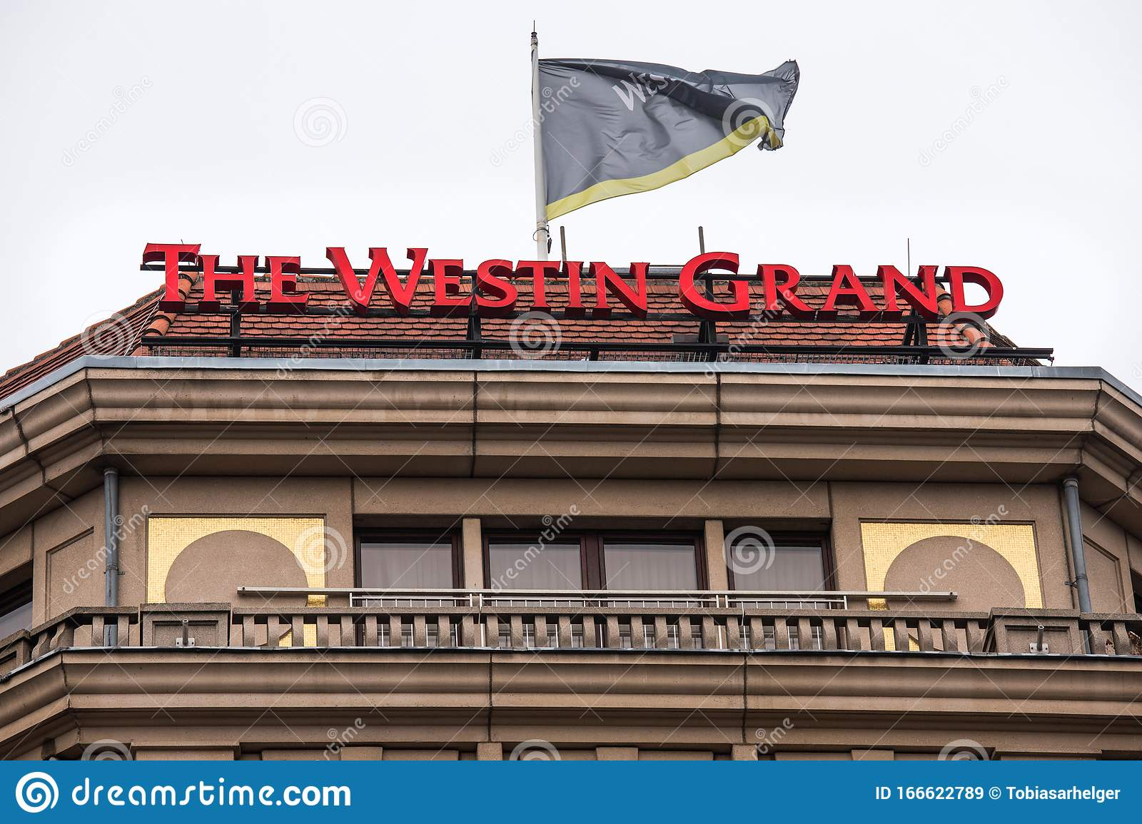 The Westin Grand Hotel Sign In Berlin Germany Editorial Stock Image Image Of Westin Germany 166622789