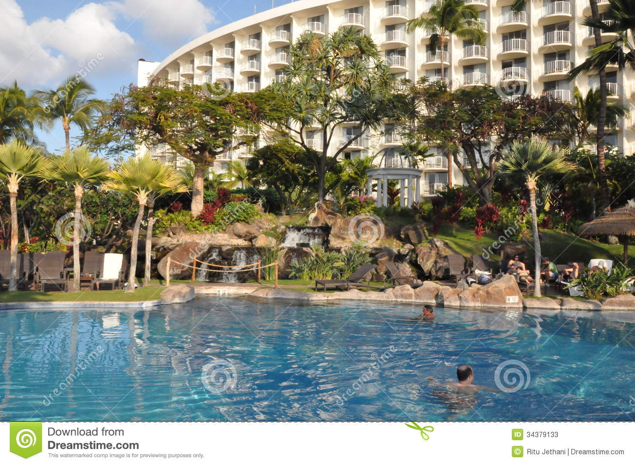 Westin kaanapali in maui hawaii editorial stock photo for Nicest hotels in maui
