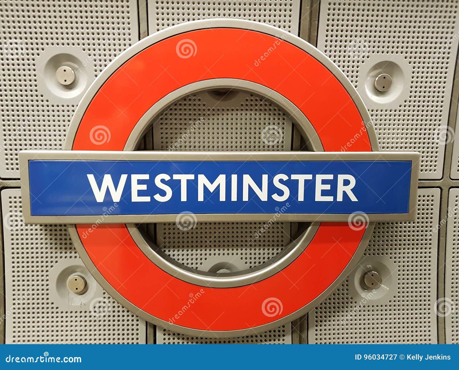 Westminister metra znak