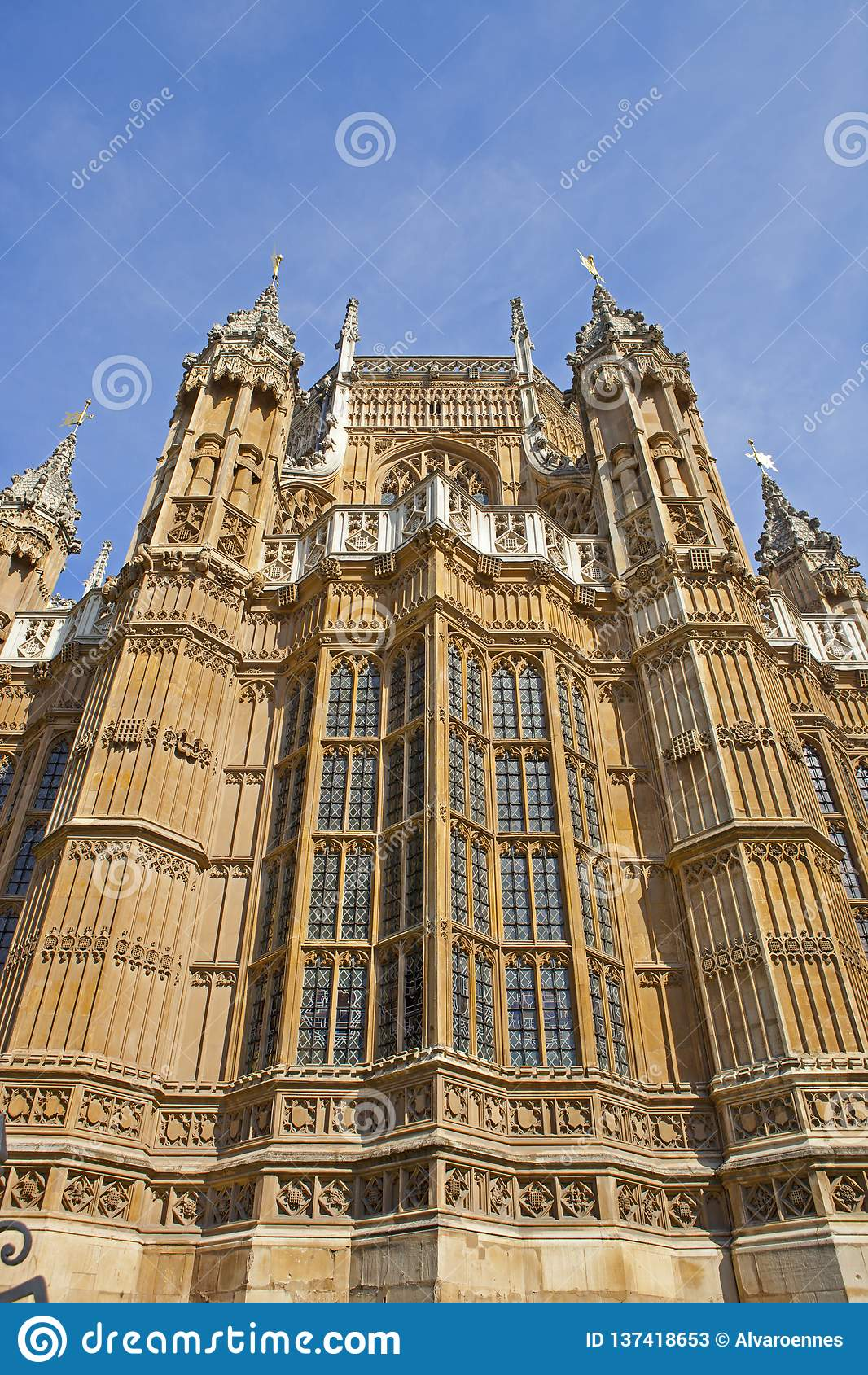 Westminster Abbey i London