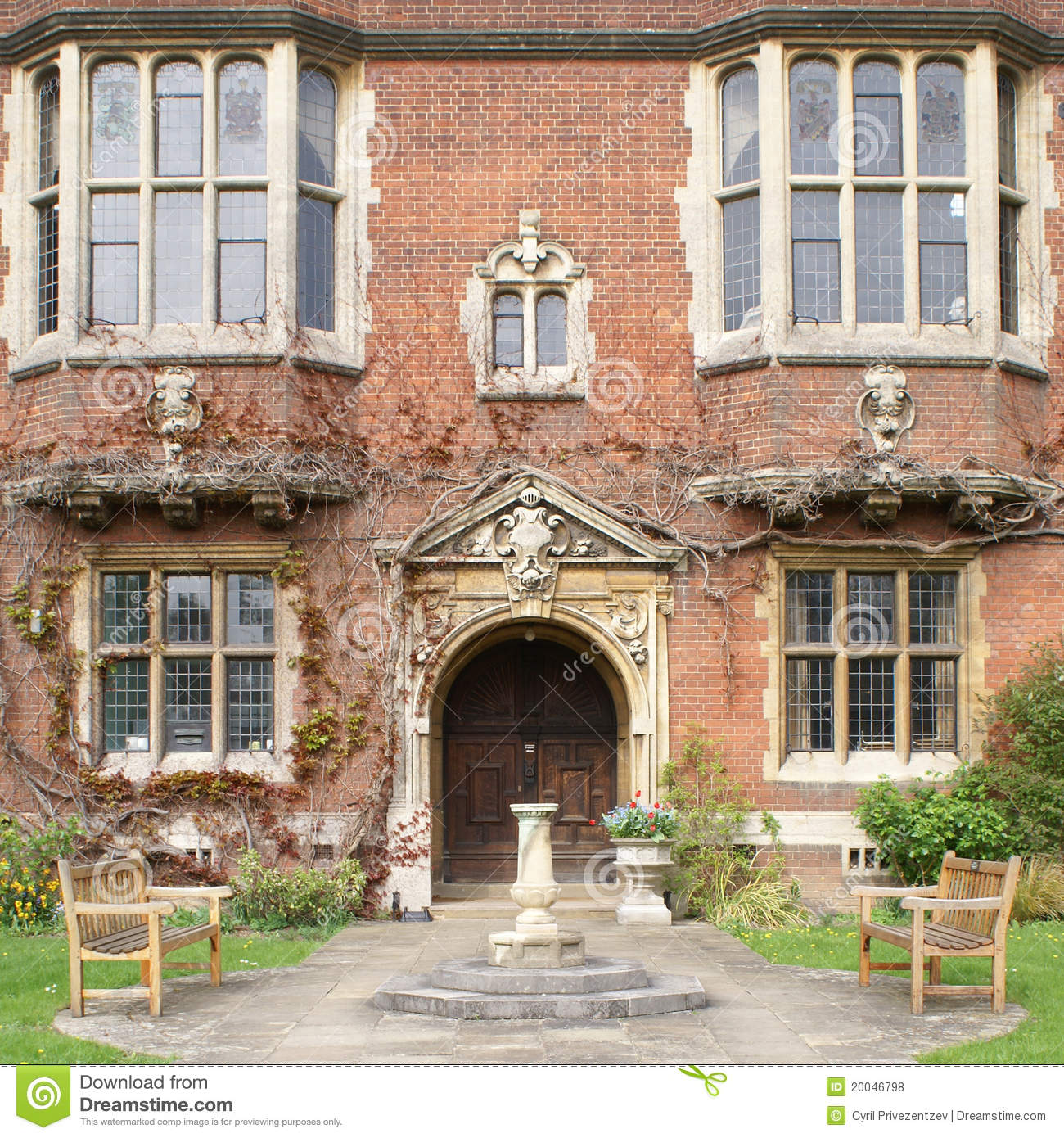 Westminster College In Cambridge Royalty Free Stock Photos