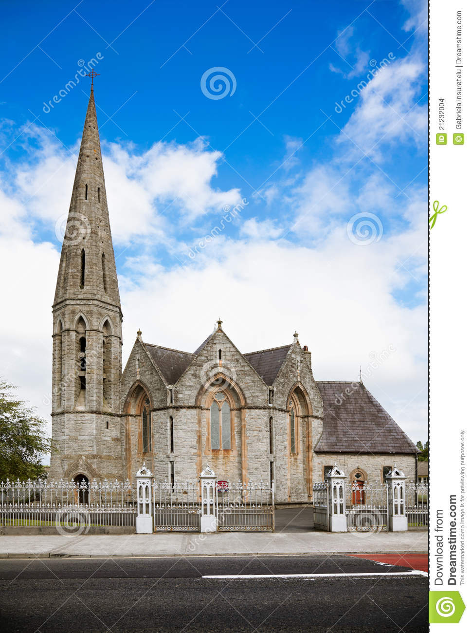 Westport Holy Trinity Church Stock Images Image 21232004