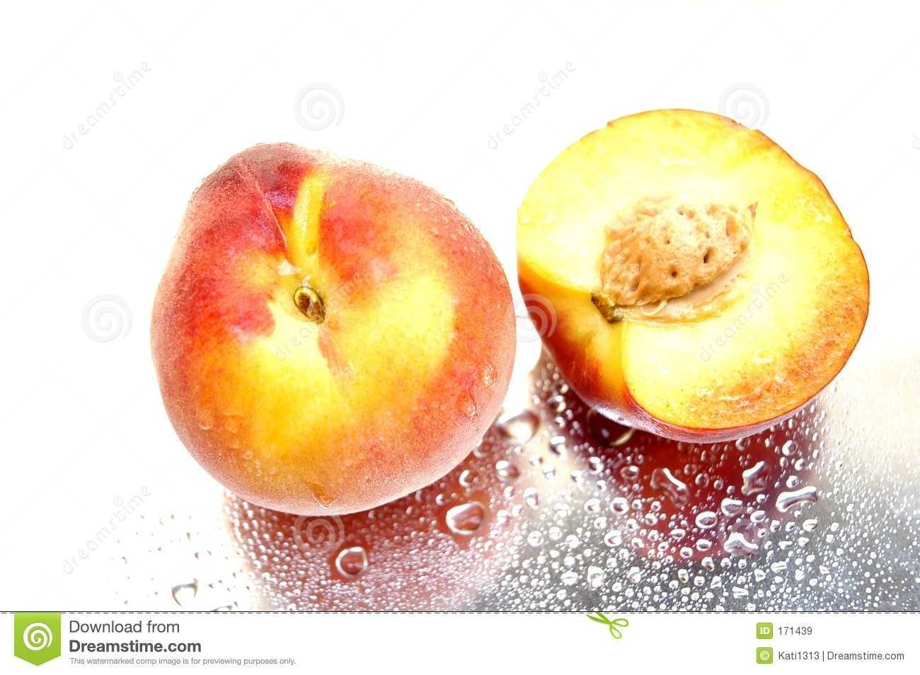 Wet peaches II