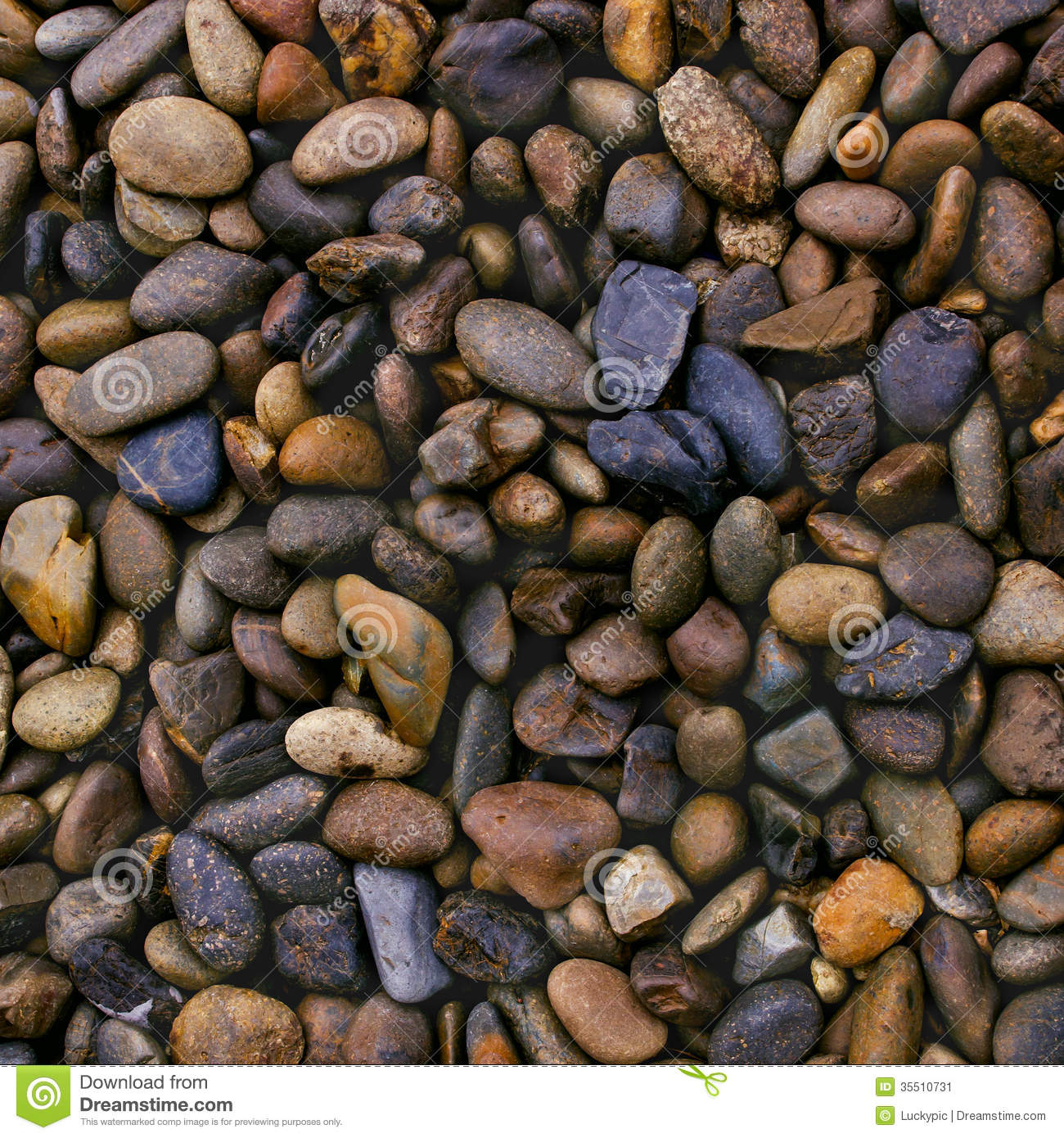 Wet river stones background stock image image 35510731 for What are river stones
