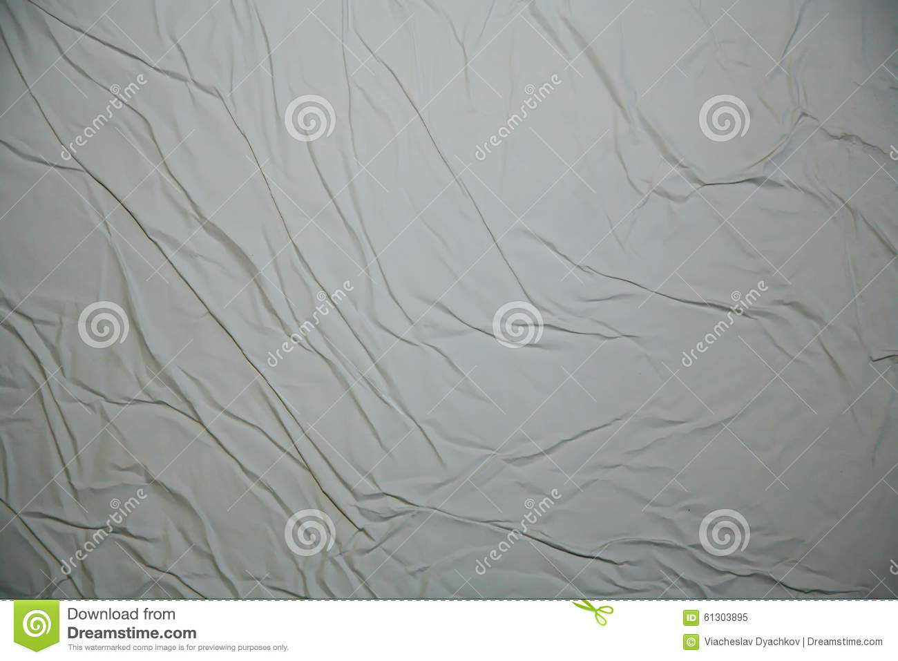 Rumpled bed sheet - The Wet Texture Of Crumpled White Paper Or Crumpled Bed Linen