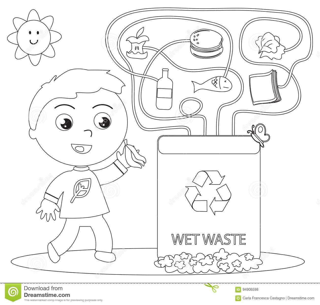 reuse of wet garbage Waste segregation 1  what is need of the hour reduce the waste ,reuse ,recycle segregation of garbage at  zero garbage segregate of waste into dry and wet.