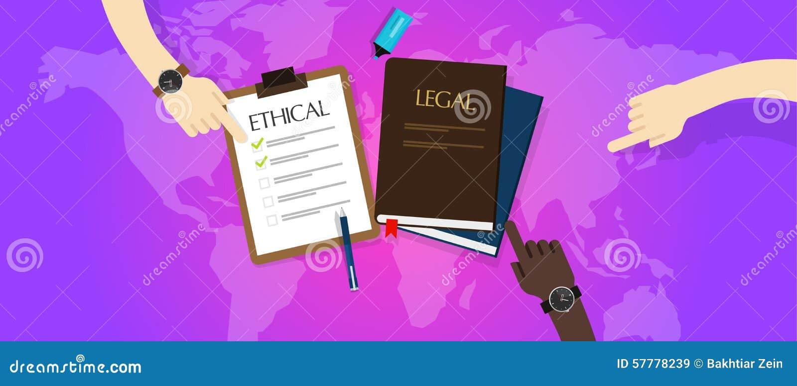 Wet wettelijk versus ethische ethiek