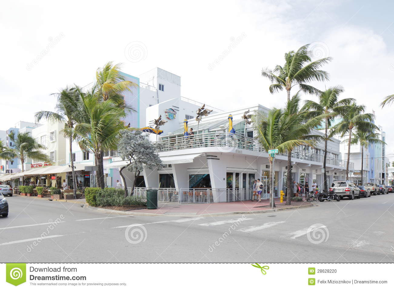 Wet Willies Bar Miami Beach Editorial Image Image 28628220