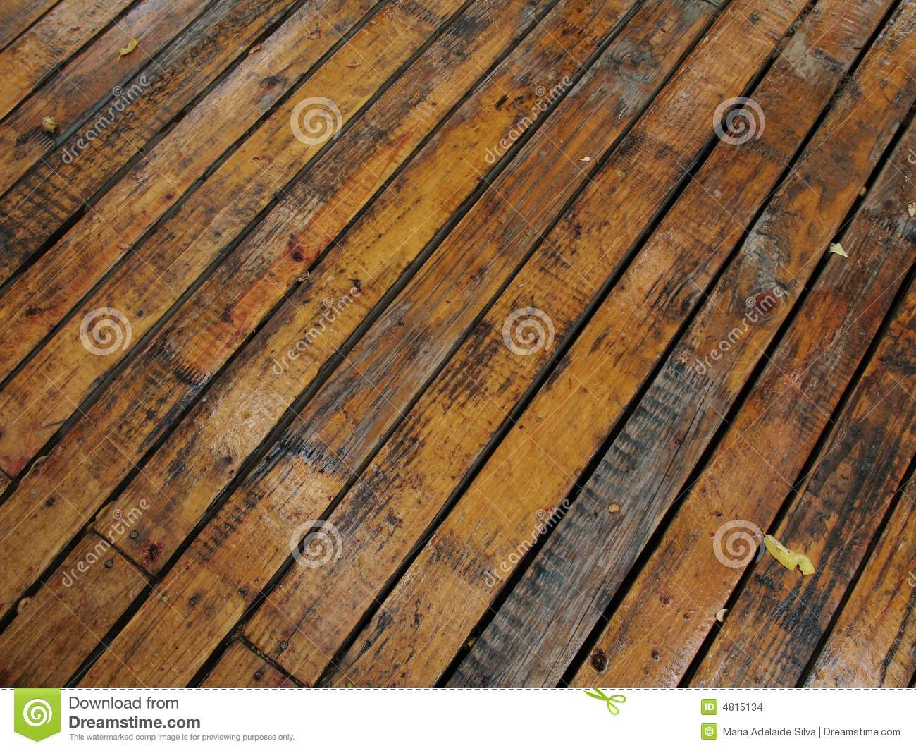 Wet Wood Planks 1 Stock Images Image 4815134