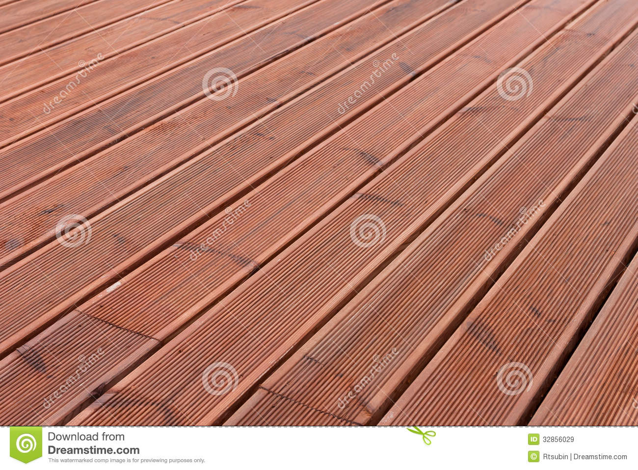 Wet Wood Terrace Floor Background Royalty Free Stock