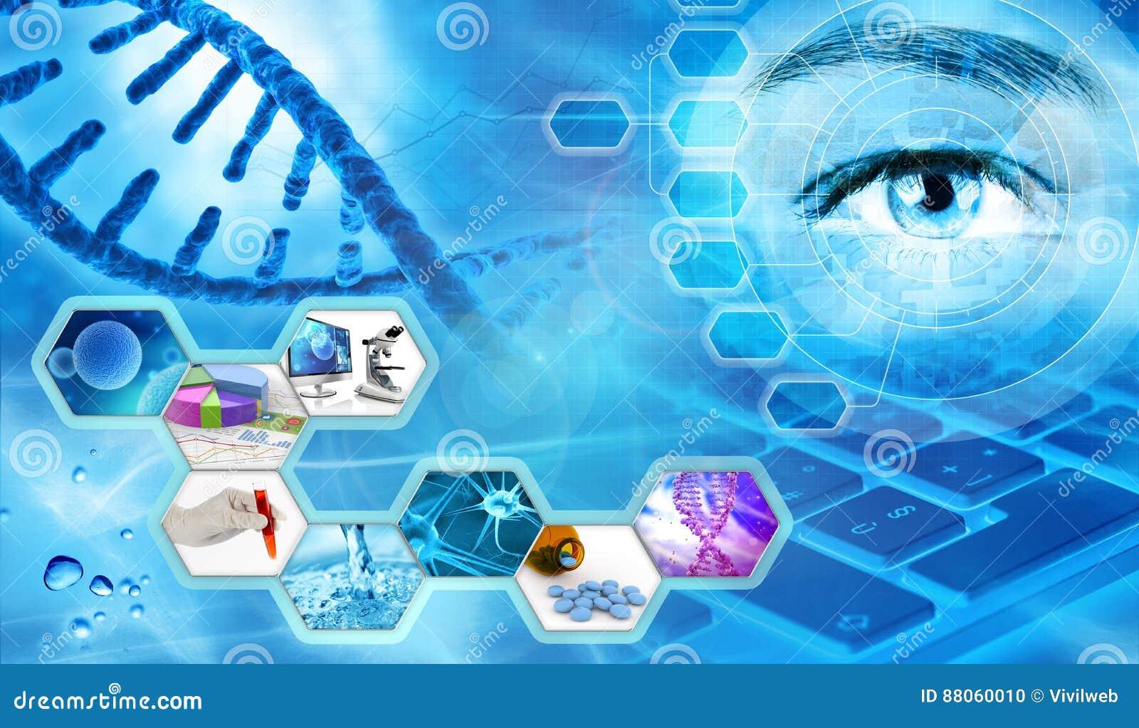 Wetenschappelijk onderzoekconcept