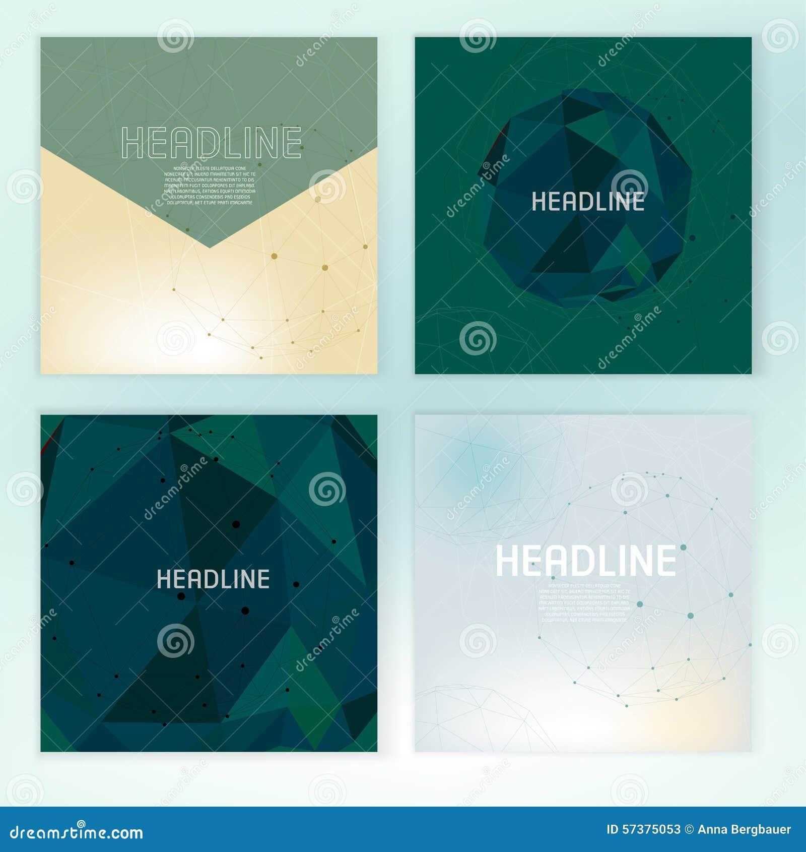 Wetenschappelijke brochuredekking