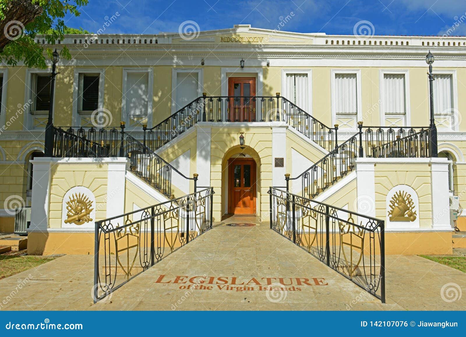 Wetgevende macht de Bouw van U S Maagdelijke Eilanden, Charlotte Amalie