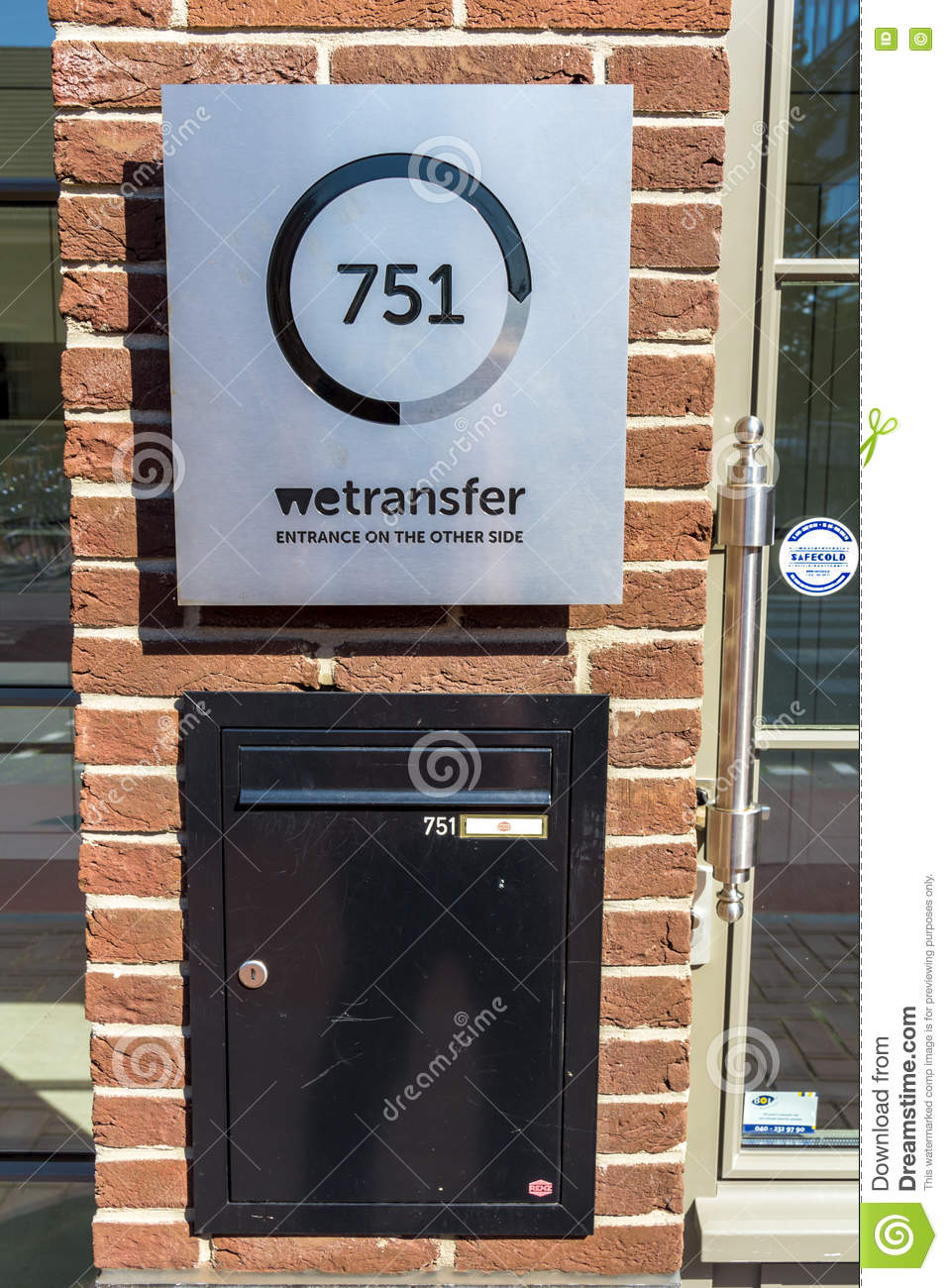 Wetransfer Headquarters Amsterdam Editorial Photo - Image of