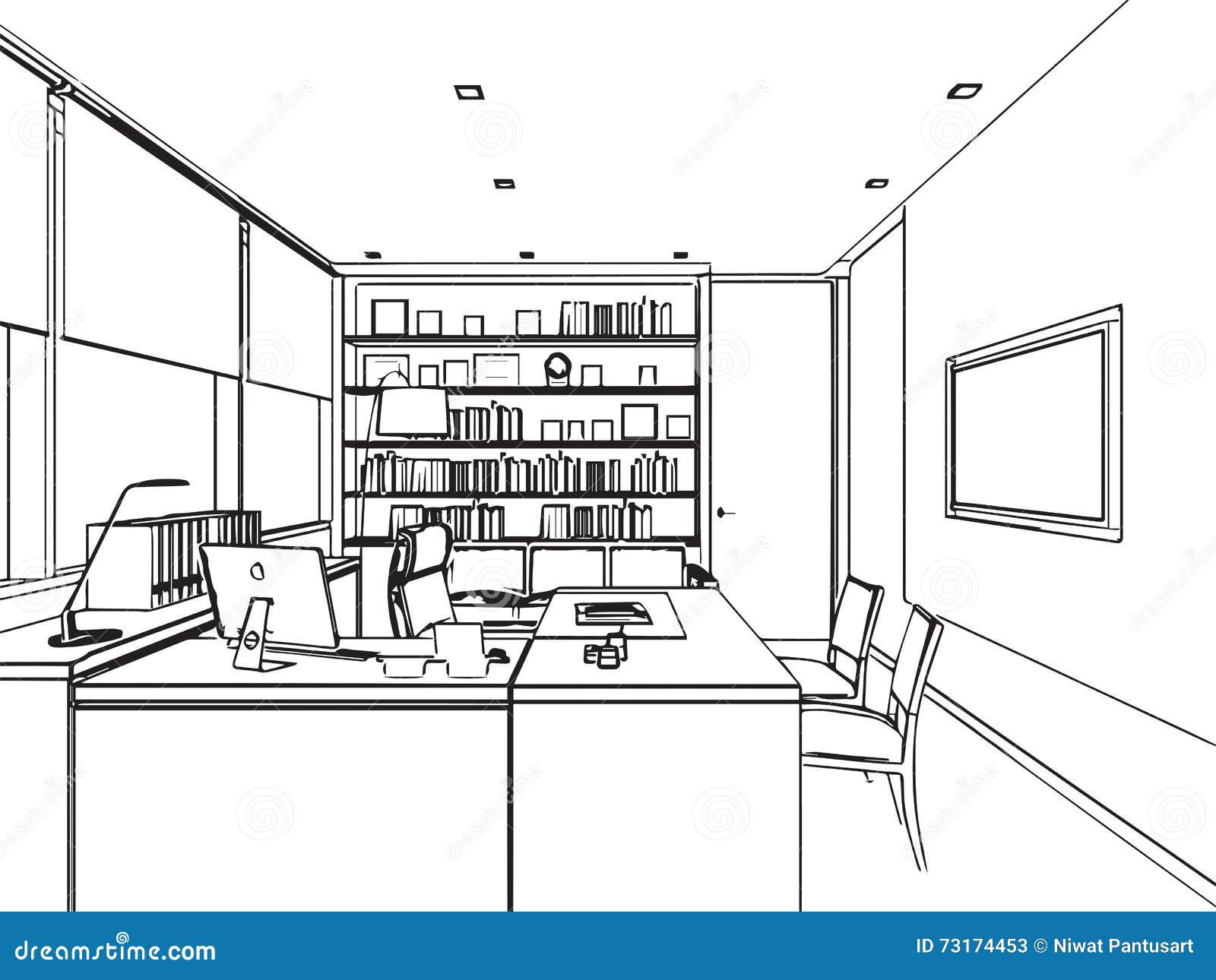 Online Floor Plan Drawing Program Wewnętrzna Konturu Nakreślenia Rysunku Perspektywa
